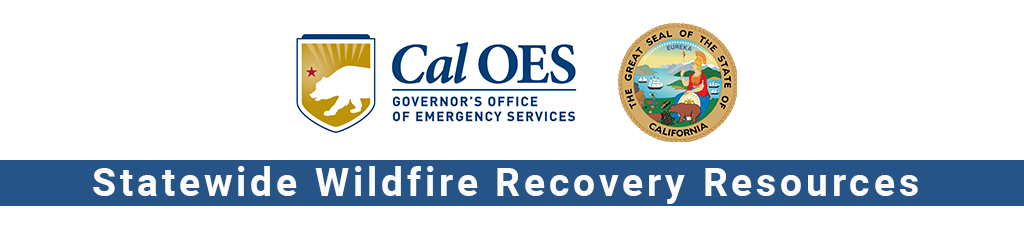 Wildfire Recovery State Wildfire Recovery Resources logo