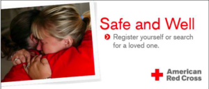 Red Cross Safe and Well