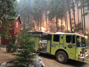 Cal OES Firetruck